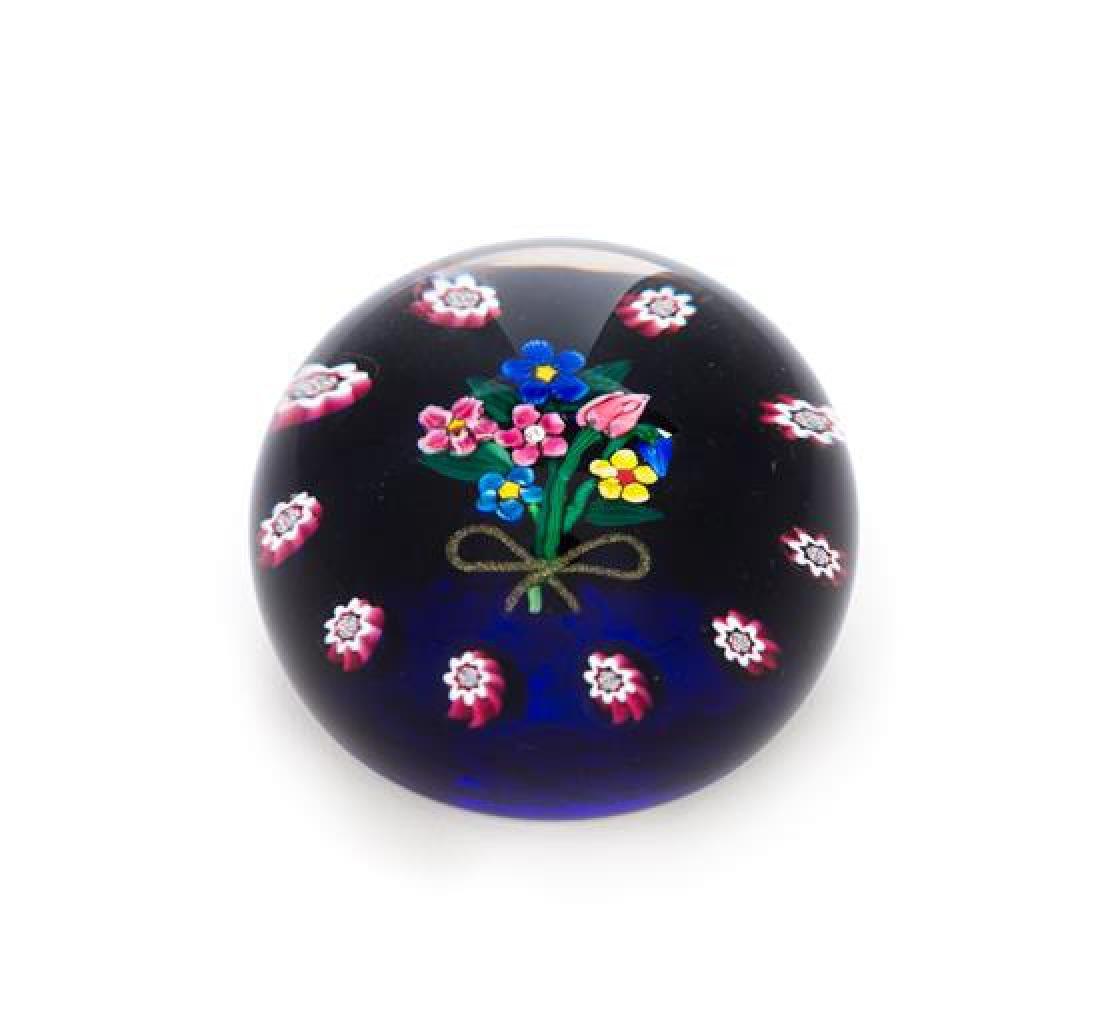 * Paul Ysart, (Spanish, 1904-1991), a Seven-Flower