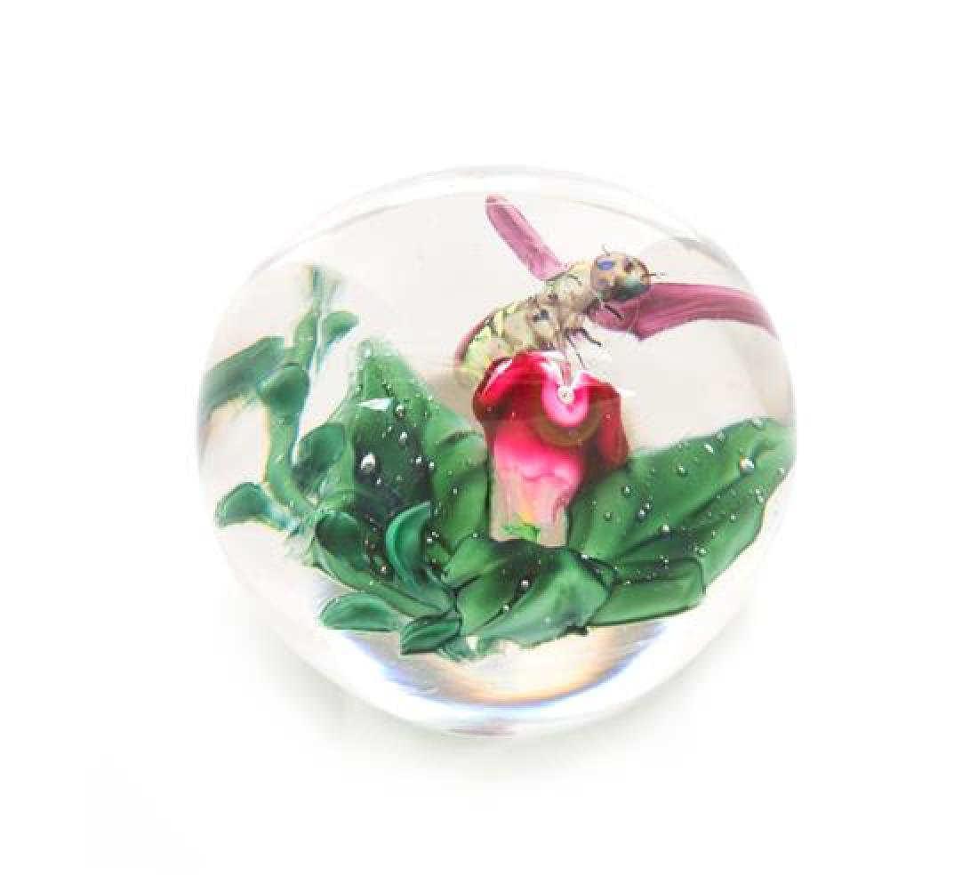 * Cristallerie de Pantin, France, 1850-1890, Bee and