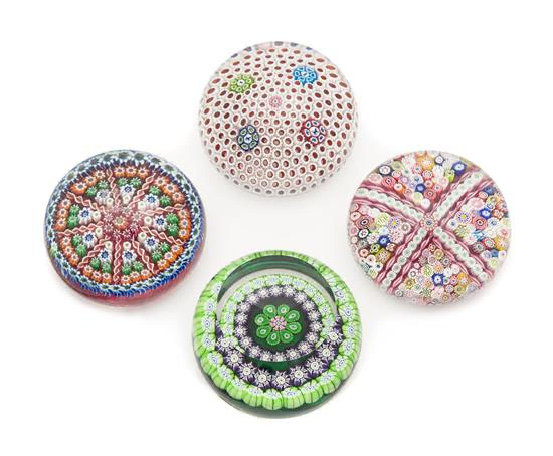 * Saint-Louis and Perthshire Paperweights, France;