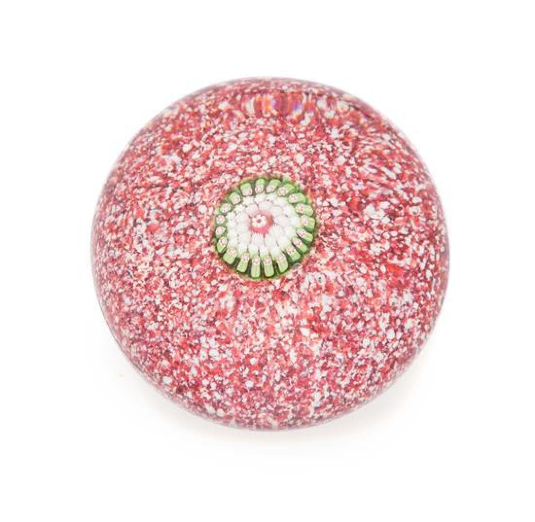 * Saint-Louis, France, a miniature pink jasper-ground