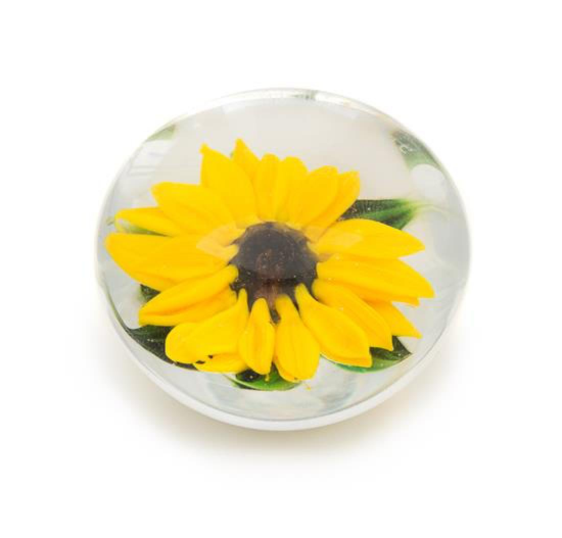* Rick Ayotte, (American), a sunflower miniature
