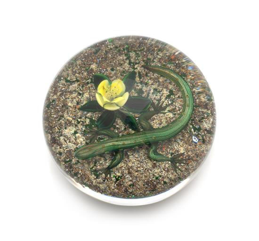 * Delmo Tarsitano, (Italian, 1921-1990), a salamander