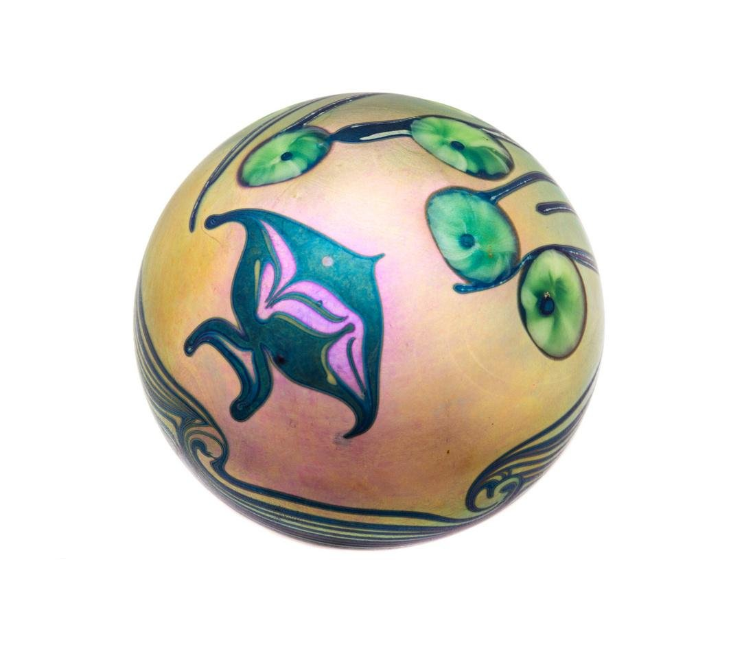 Orient & Flume, Chico, California, a fish paperweight,