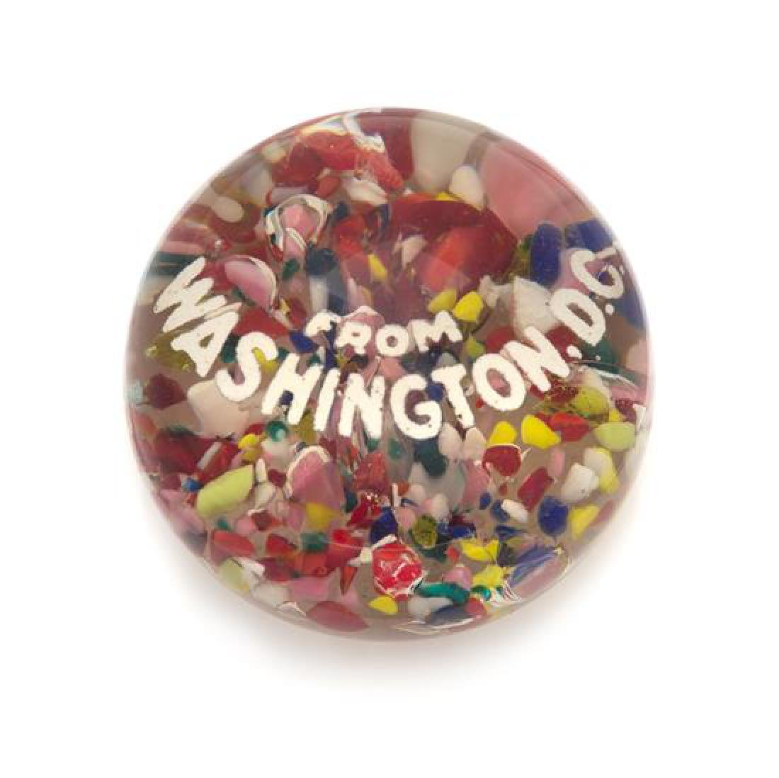 * An Antique American Washington D.C. Paperweight