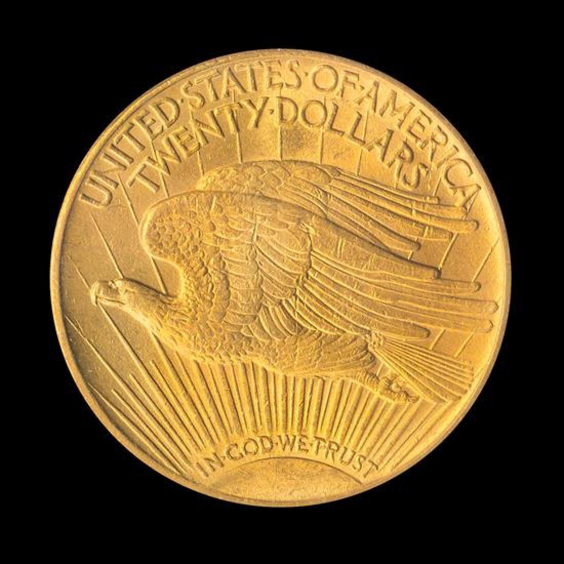 A United States 1913-S Saint-Gaudens $20 Gold Coin - 2