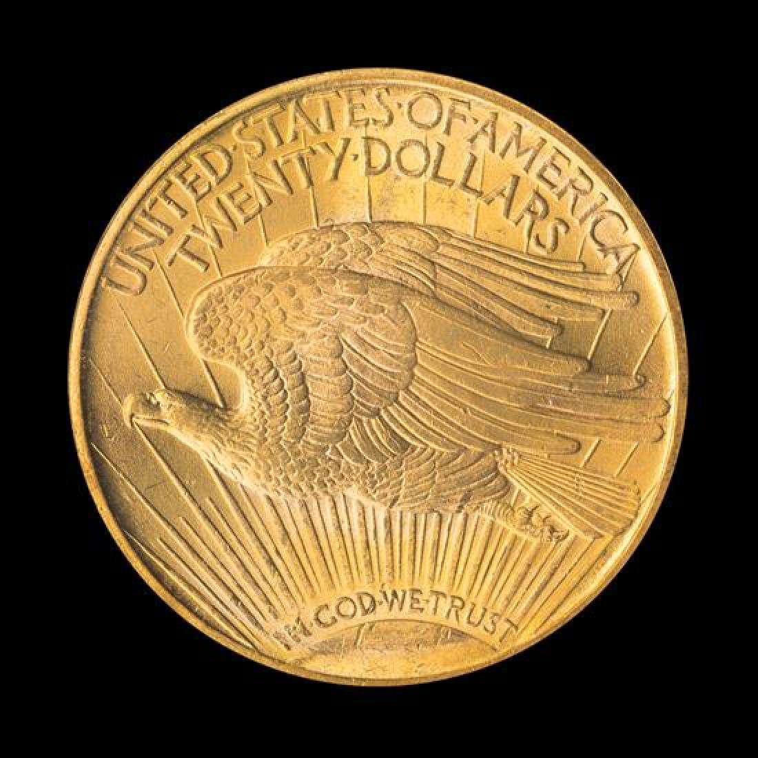 A United States 1922 Saint-Gaudens $20 Gold Coin - 2