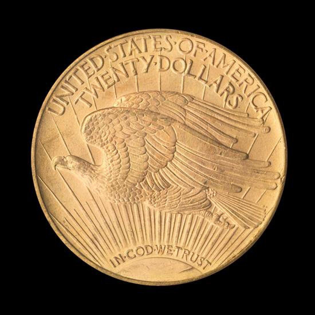 A United States 1923-D Saint-Gaudens $20 Gold Coin - 2
