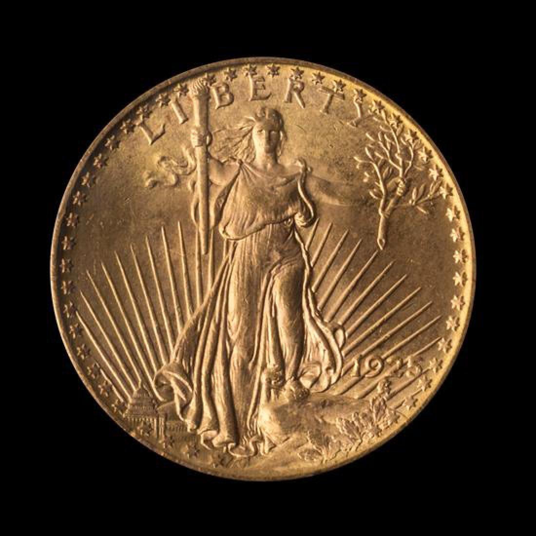 A United States 1925 Saint-Gaudens $20 Gold Coin
