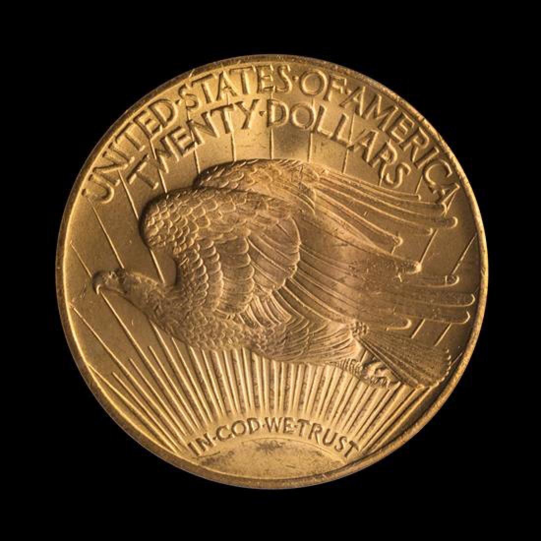 A United States 1928 Saint-Gaudens $20 Gold Coin - 2