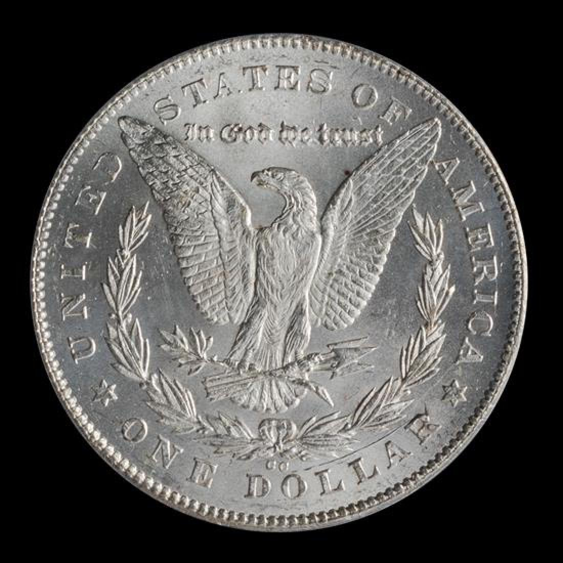 A United States 1878-CC Morgan Silver Dollar Coin - 2