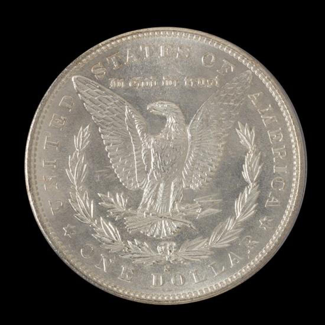 A United States 1881-S Morgan Silver Dollar Coin - 2