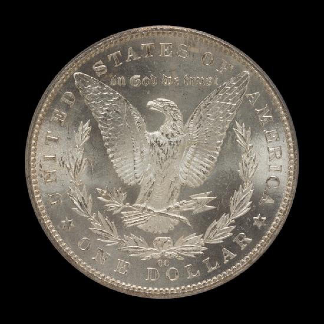 A United States 1882-CC Morgan Silver Dollar Coin - 2