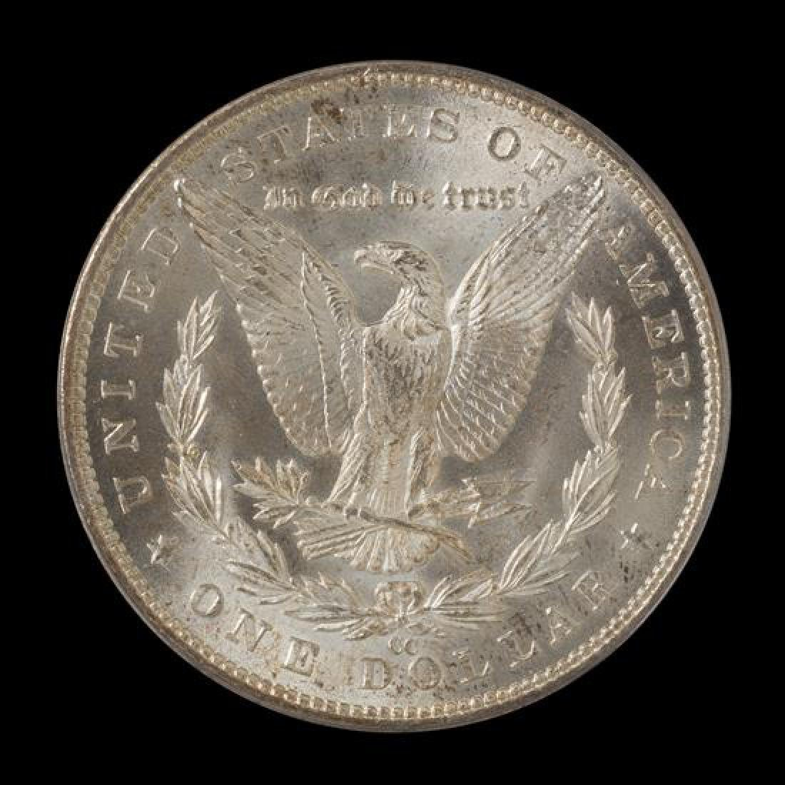 A United States 1883-CC Morgan Silver Dollar Coin - 2
