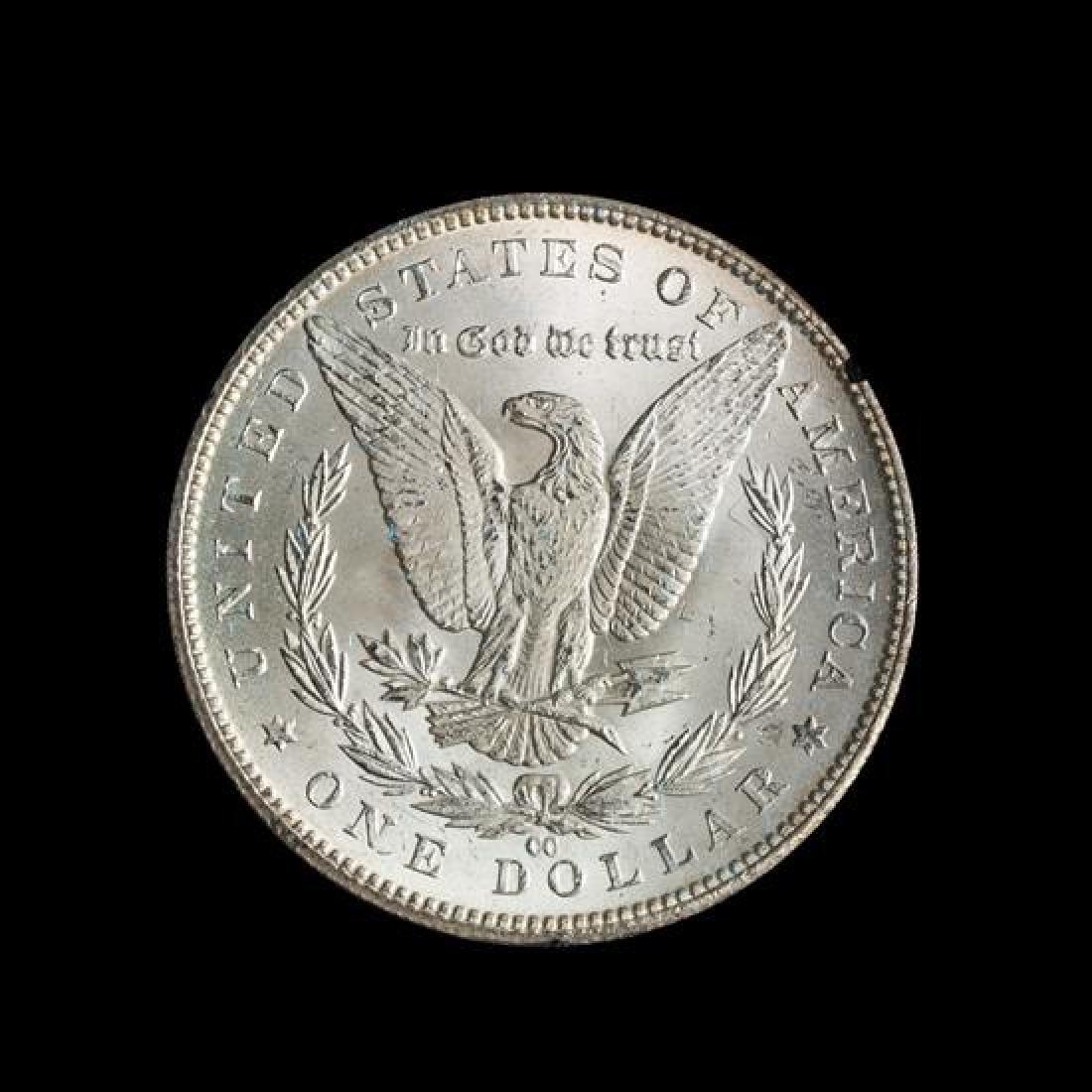 A United States 1884-CC GSA: Morgan Silver Dollar Coin - 2