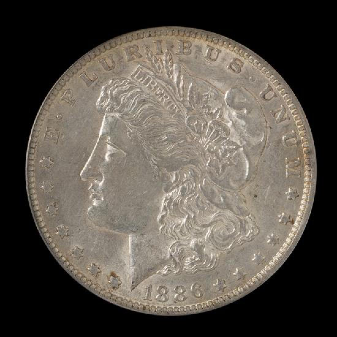 A United States 1886-O Morgan Silver Dollar Coin