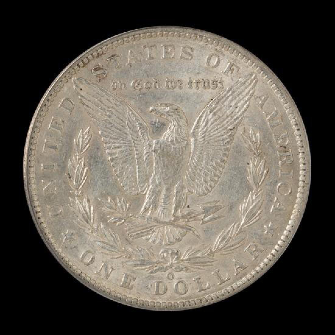 A United States 1886-O Morgan Silver Dollar Coin - 2