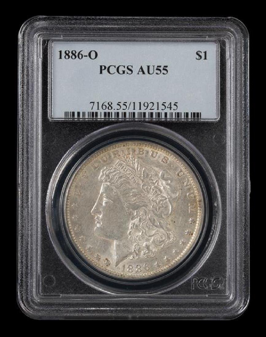 A United States 1886-O Morgan Silver Dollar Coin - 3