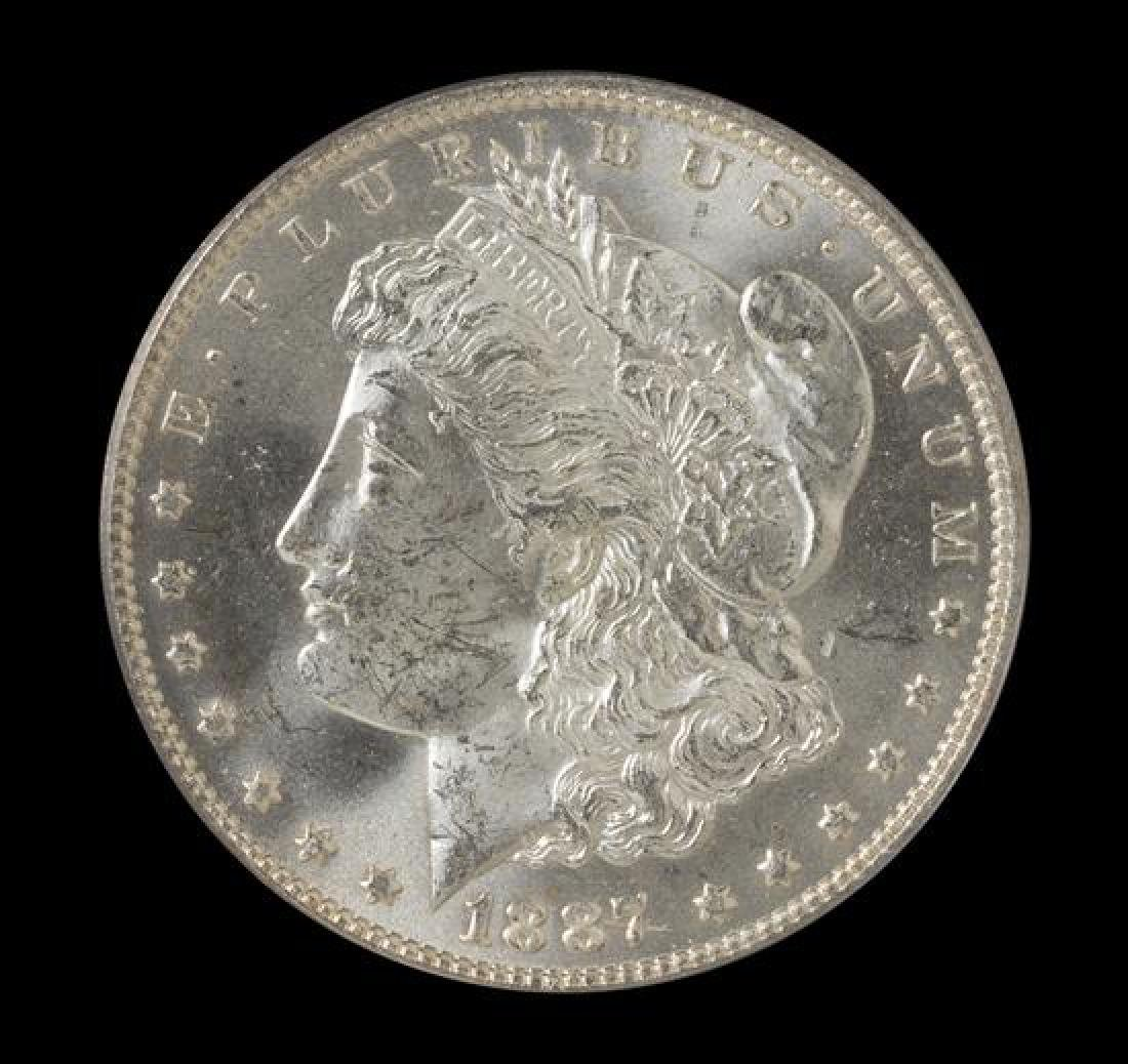 A United States 1887-O Morgan Silver Dollar Coin