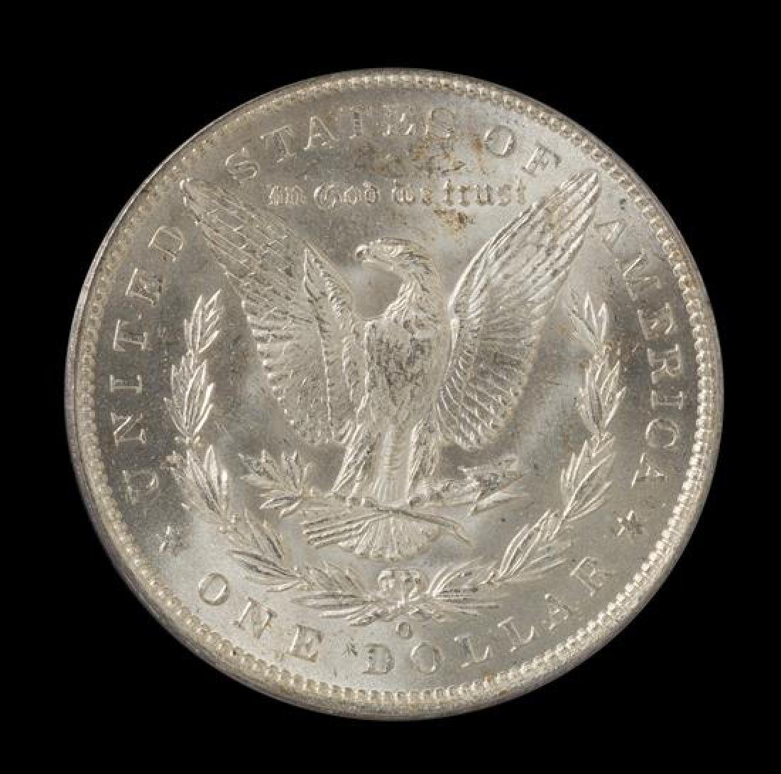 A United States 1887-O Morgan Silver Dollar Coin - 2