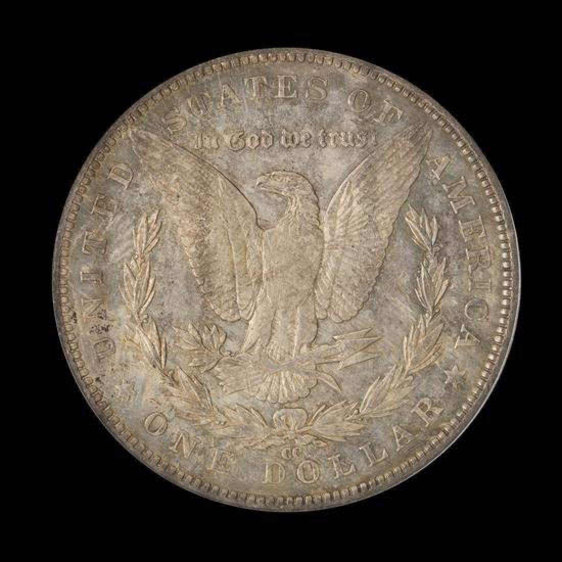 A United States 1891-CC Morgan Silver Dollar Coin - 2