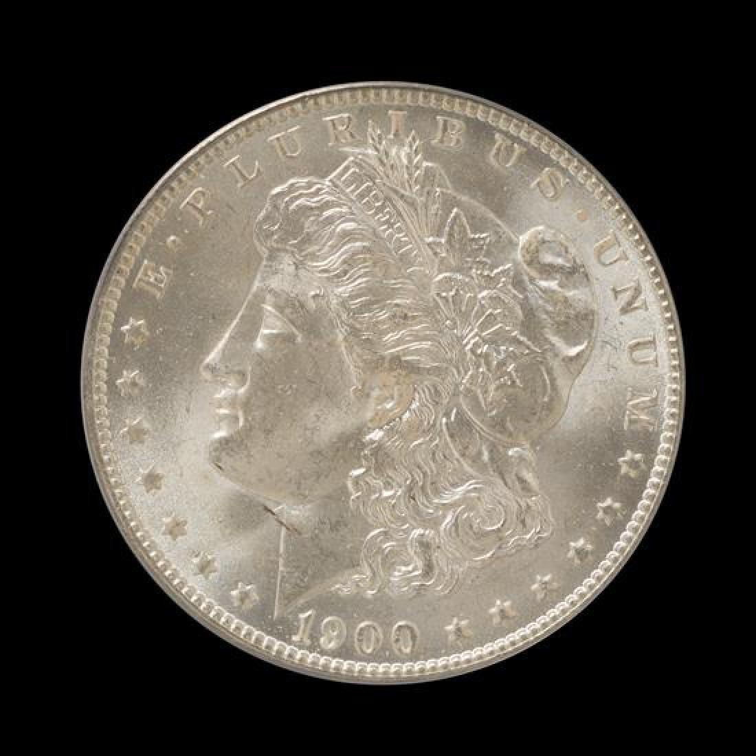 A United States 1900-O Morgan Silver Dollar Coin