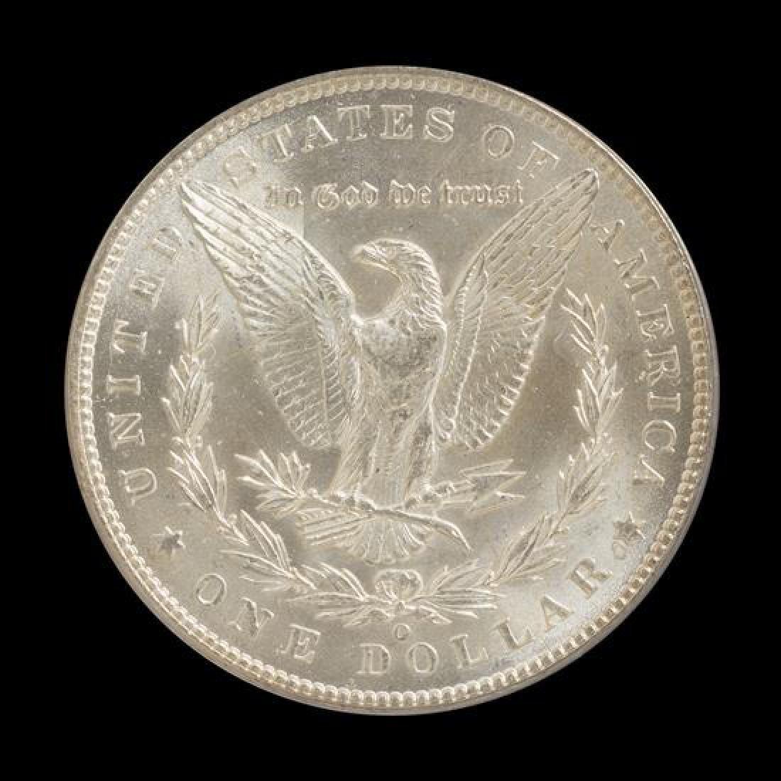 A United States 1900-O Morgan Silver Dollar Coin - 2