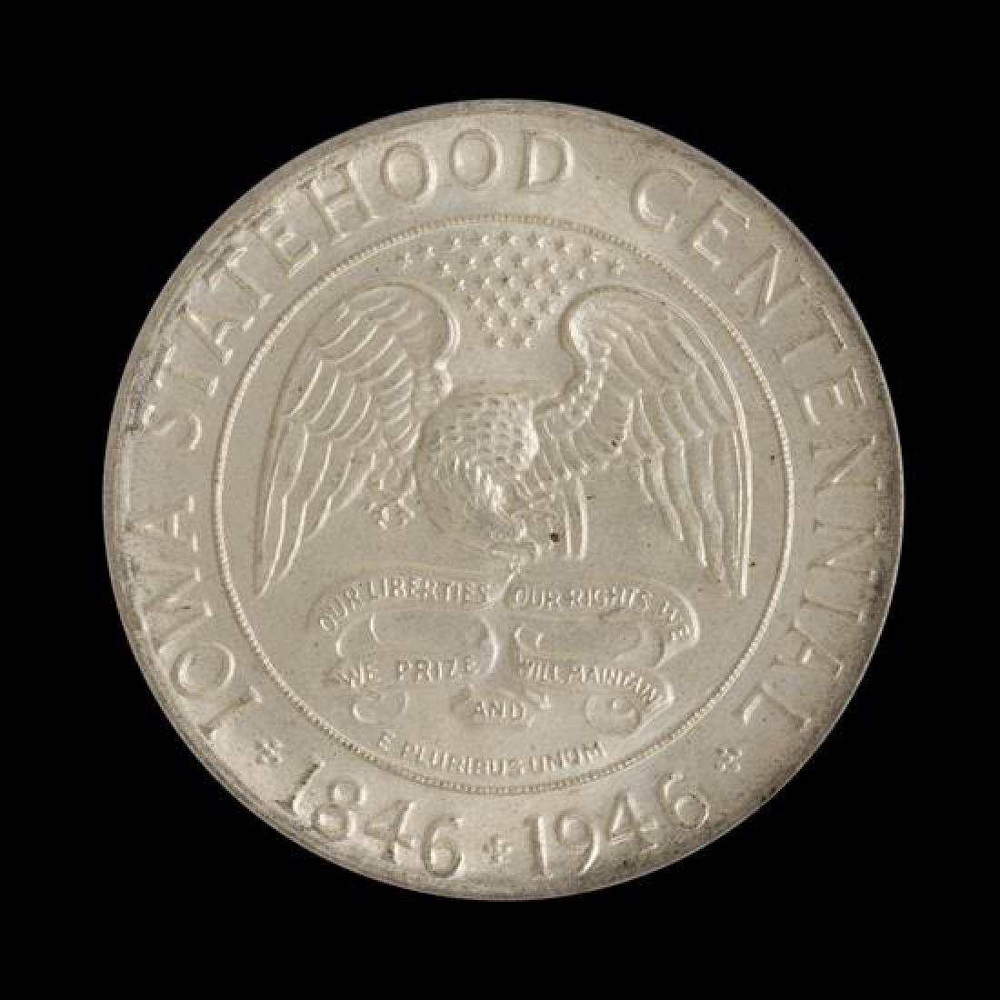 A United States 1946 Iowa Commemorative 50c Coin