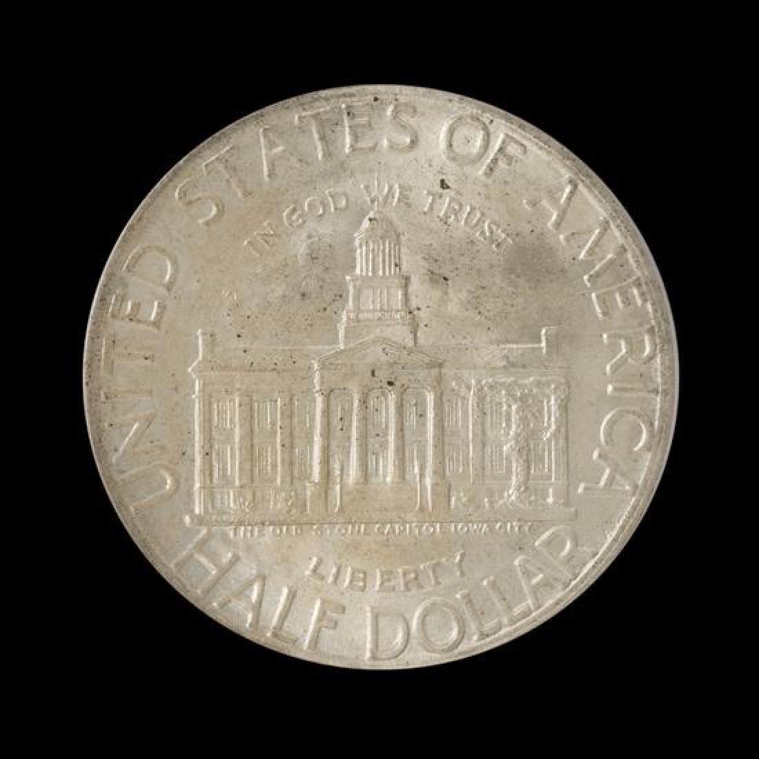 A United States 1946 Iowa Commemorative 50c Coin - 2