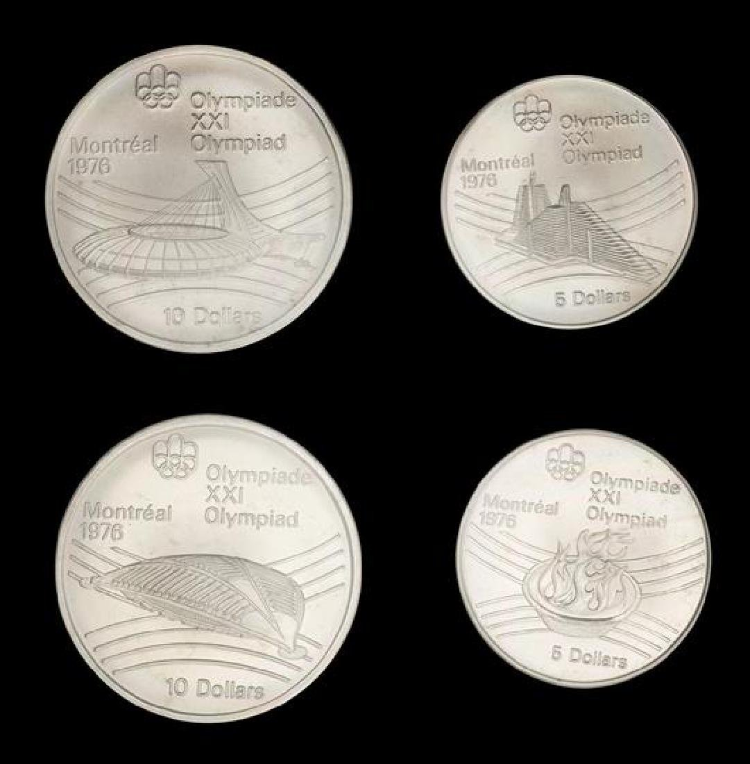 A Royal Canadian Mint 1976 Montreal Winter Olympiad - 2