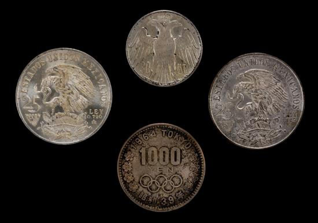 A Group of Three Summer Olympiad Commemorative Silver - 2