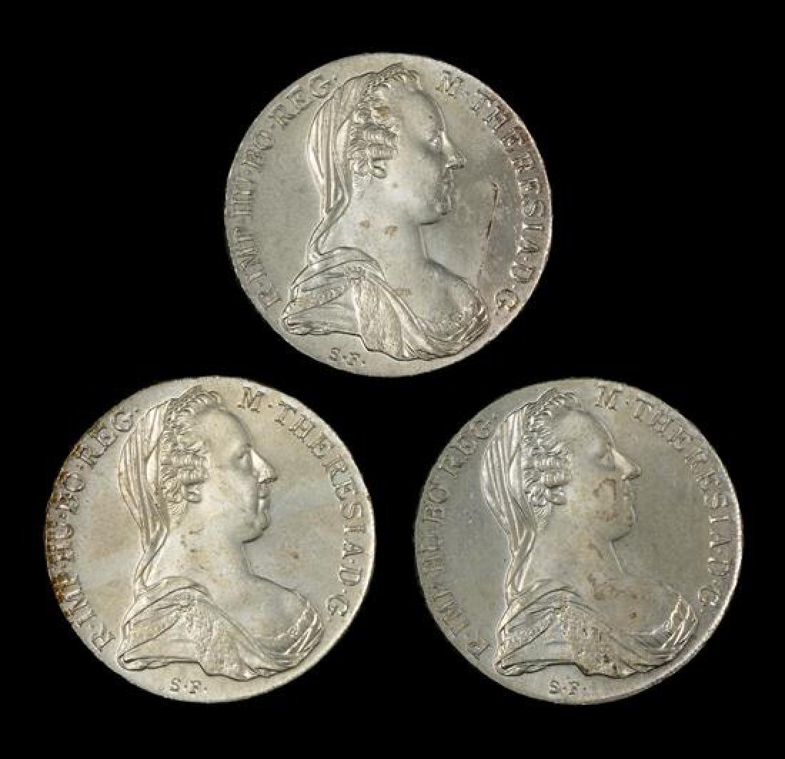 An Austrian Maria Theresa Thaler Silver Bullion Coin
