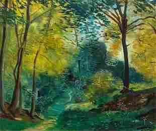 * André Derain, (French, 1880-1954), Forêt de