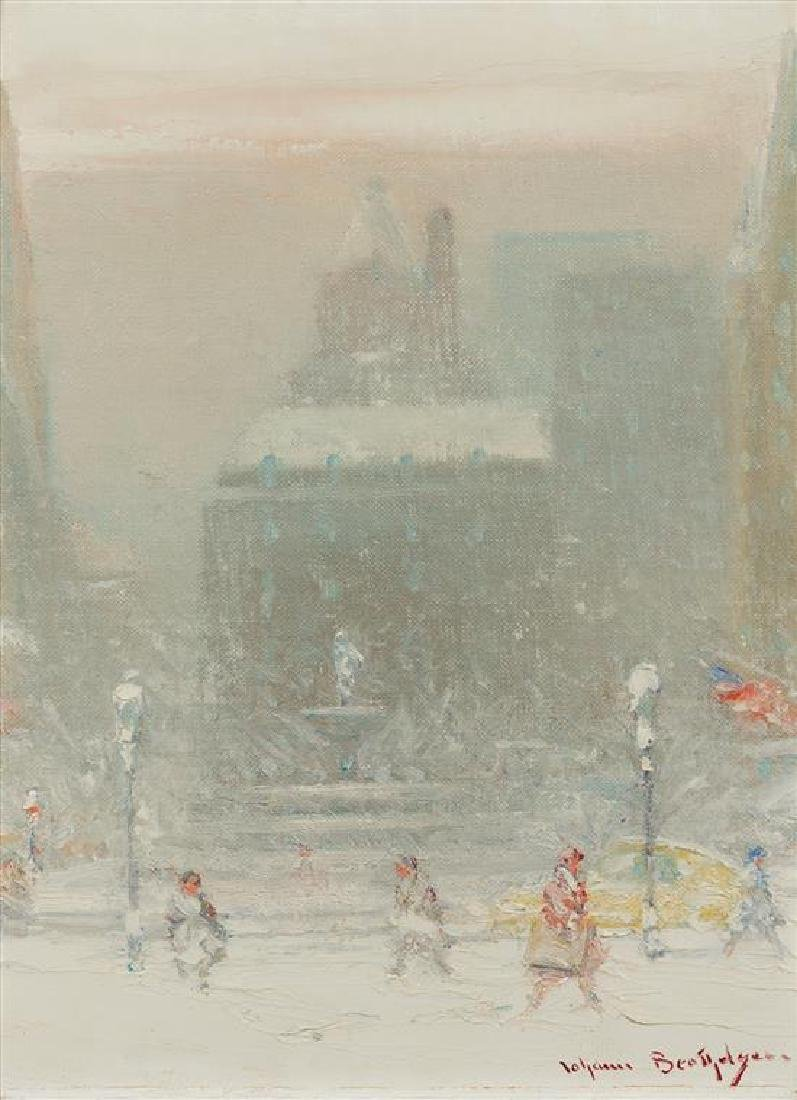 Johann Berthelsen, (American, 1883-1972), The Grand