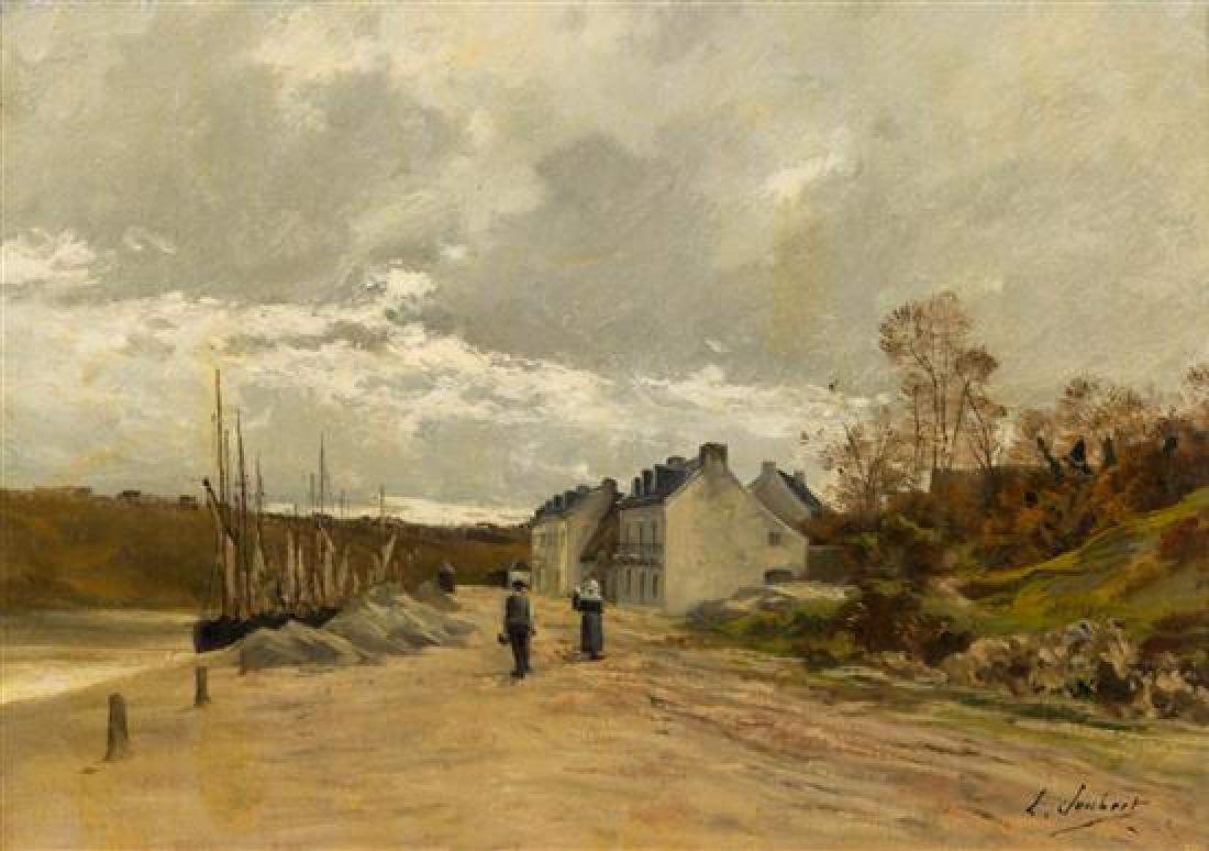 * Leon Joubert, (French, 1871–1920), Harbor Village