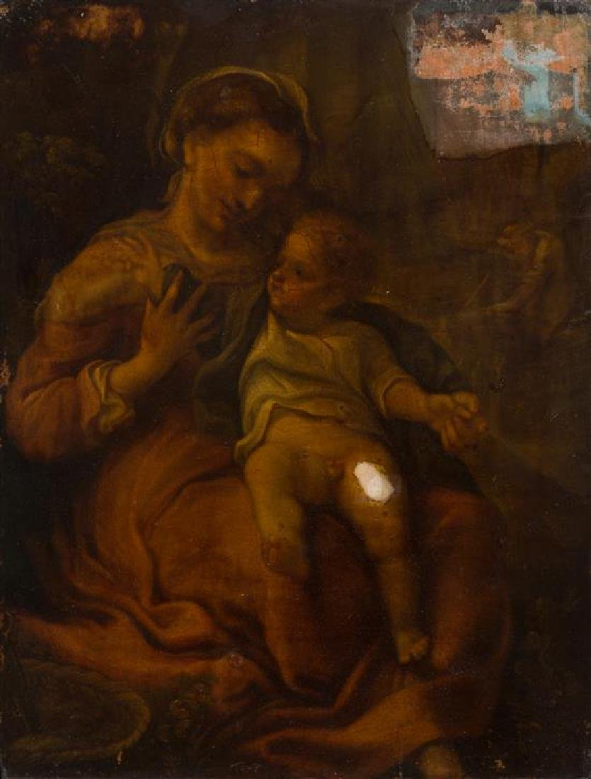 * After Antonio da Correggio, (Italian, Circa 1600),