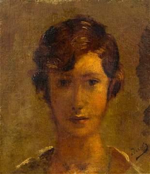 * André Derain, (French, 1880-1954), Tete de jeune