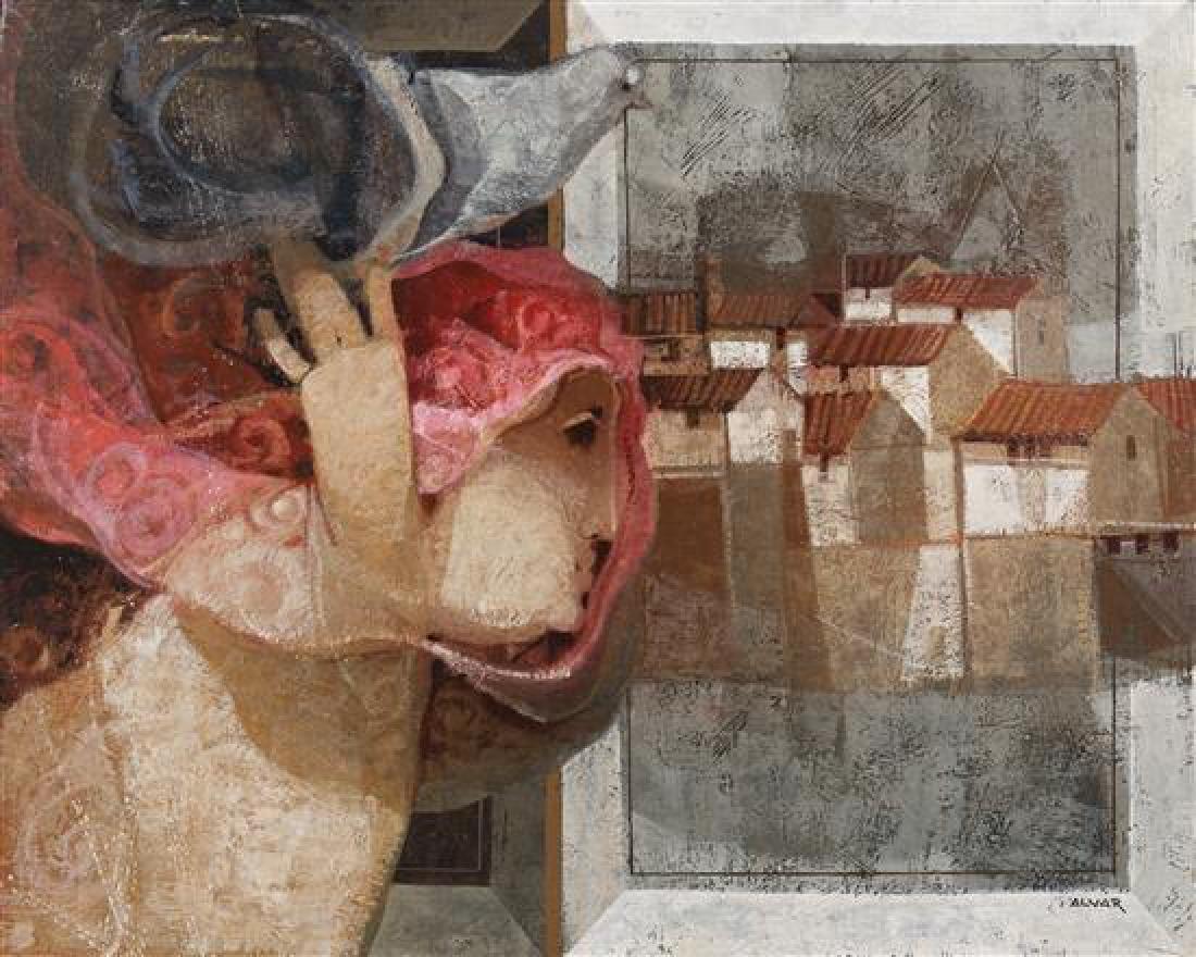 Alvar Sunol Munoz-Ramos, (Spanish, 1935), Interior y