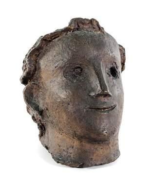* André Derain , (French, 1880-1954), Le grand visage