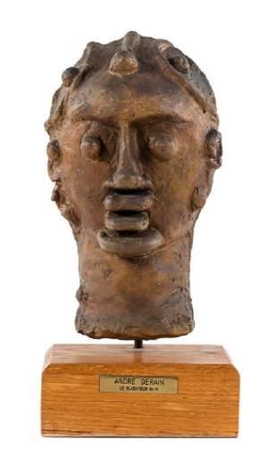 * André Derain, (French, 1880-1954), Le gladiateur, c.