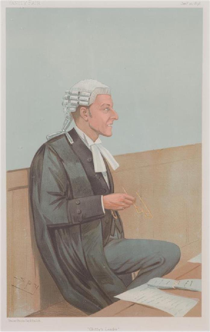 A Collection of Vanity Fair Judge and Gentleman Prints