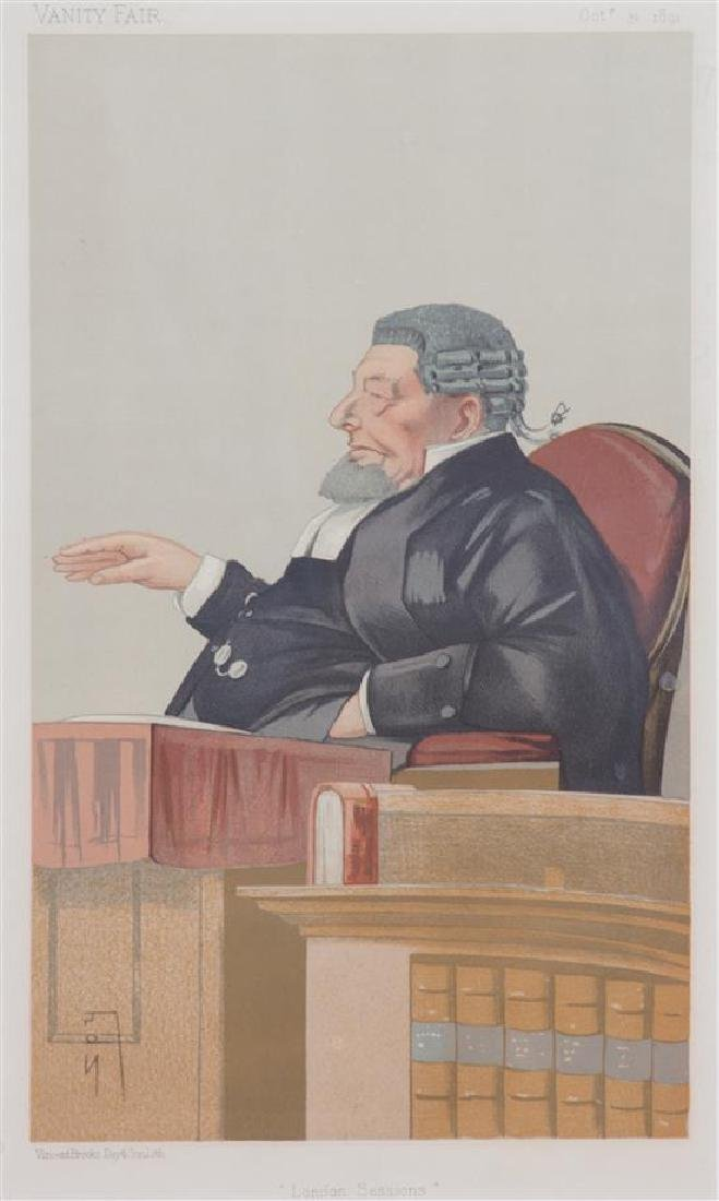 A Collection of Vanity Fair Judge and Gentleman Prints - 2