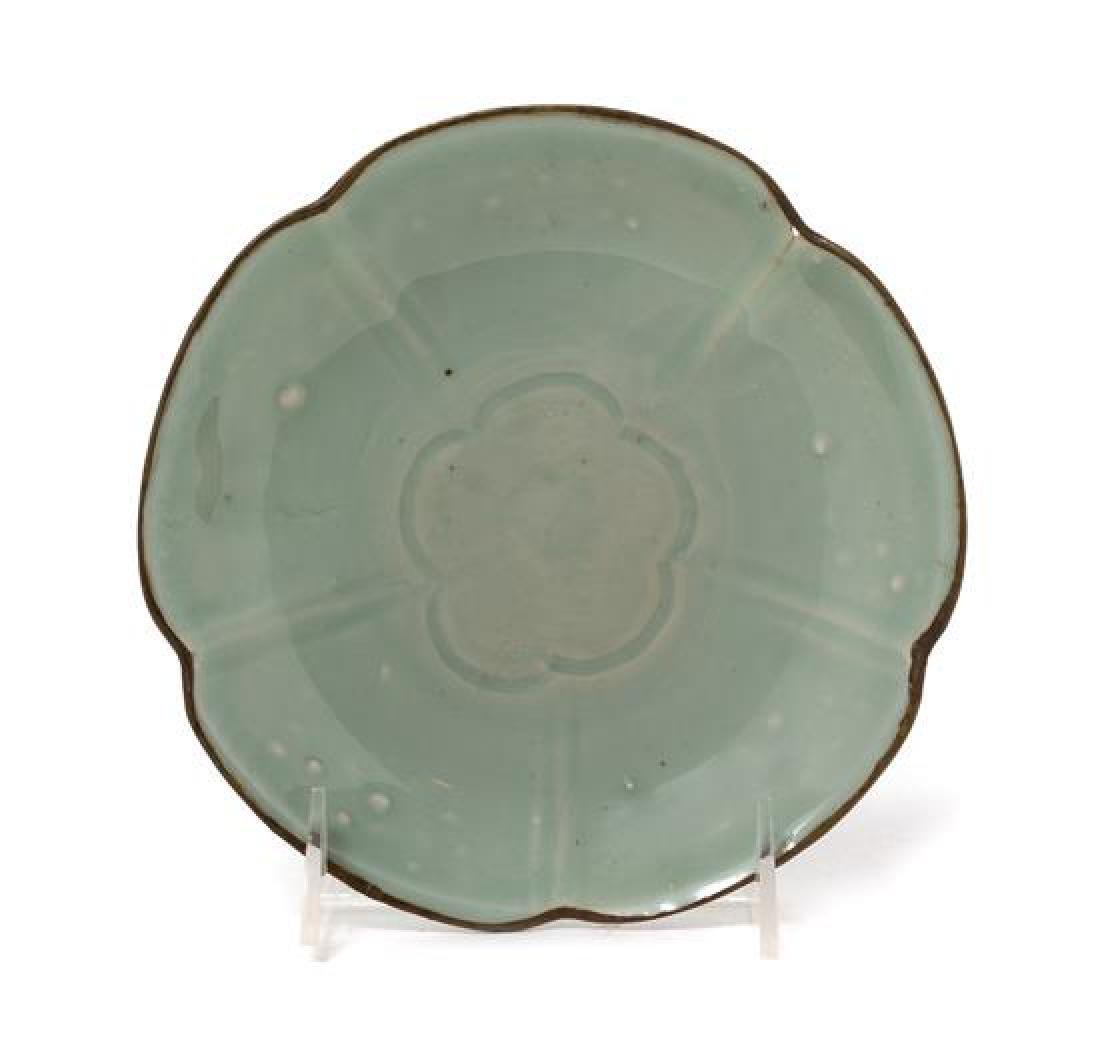 A Chinese Qingbai Glazed Porcelain Dish Diameter 7