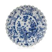 A Chinese Export Blue and White Porcelain