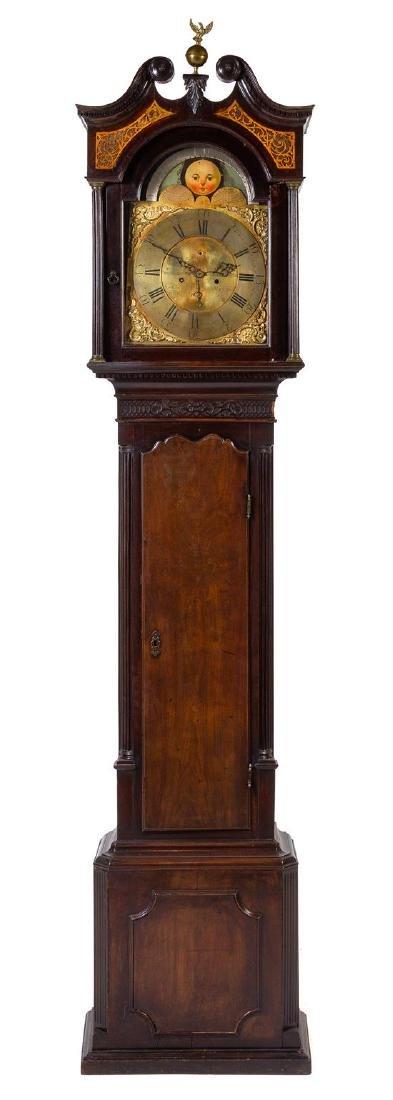 * A Scottish George III Mahogany Tall Case Clock Height