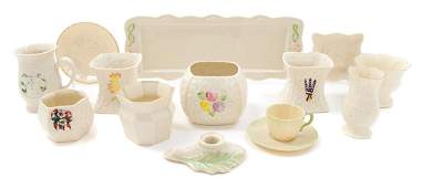 * A Collection of Belleek Articles Width of widest 14