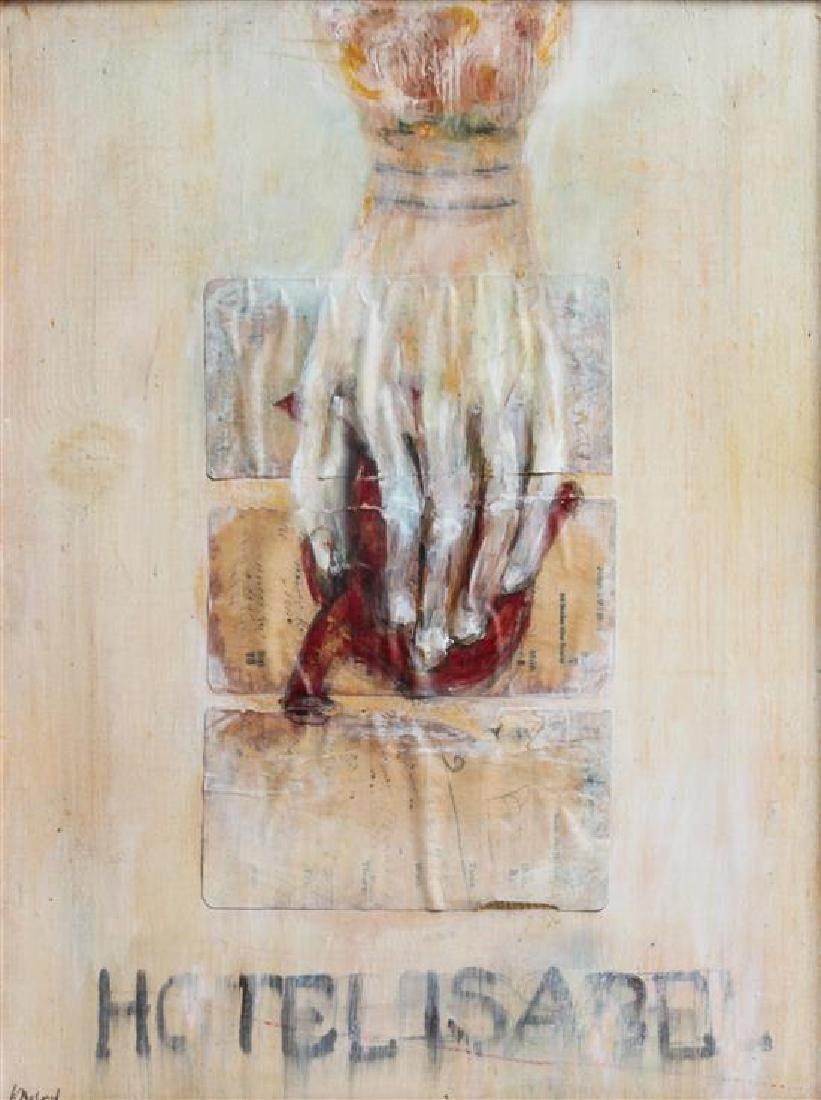 Artist Unknown 11 x 14 1/2 inches