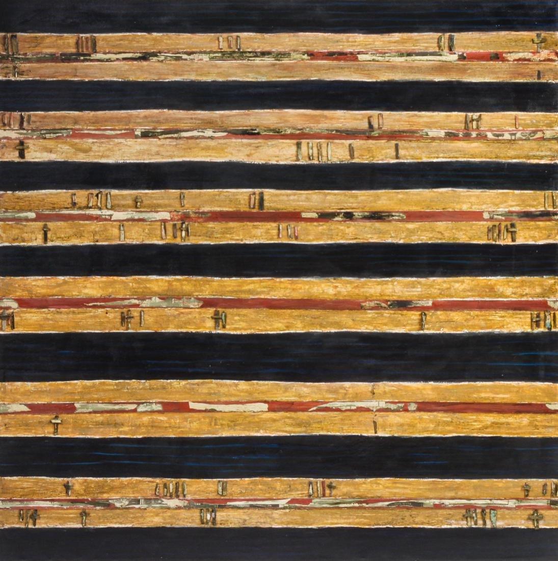 Artist Unknown 54 x 54 inches