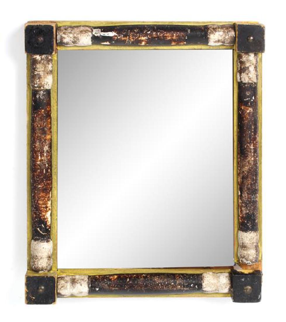 Two Southwest Style Mirrors Larger: 16 x 14 inches