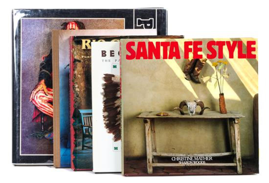 Five Reference Books on Southwestern Interiors