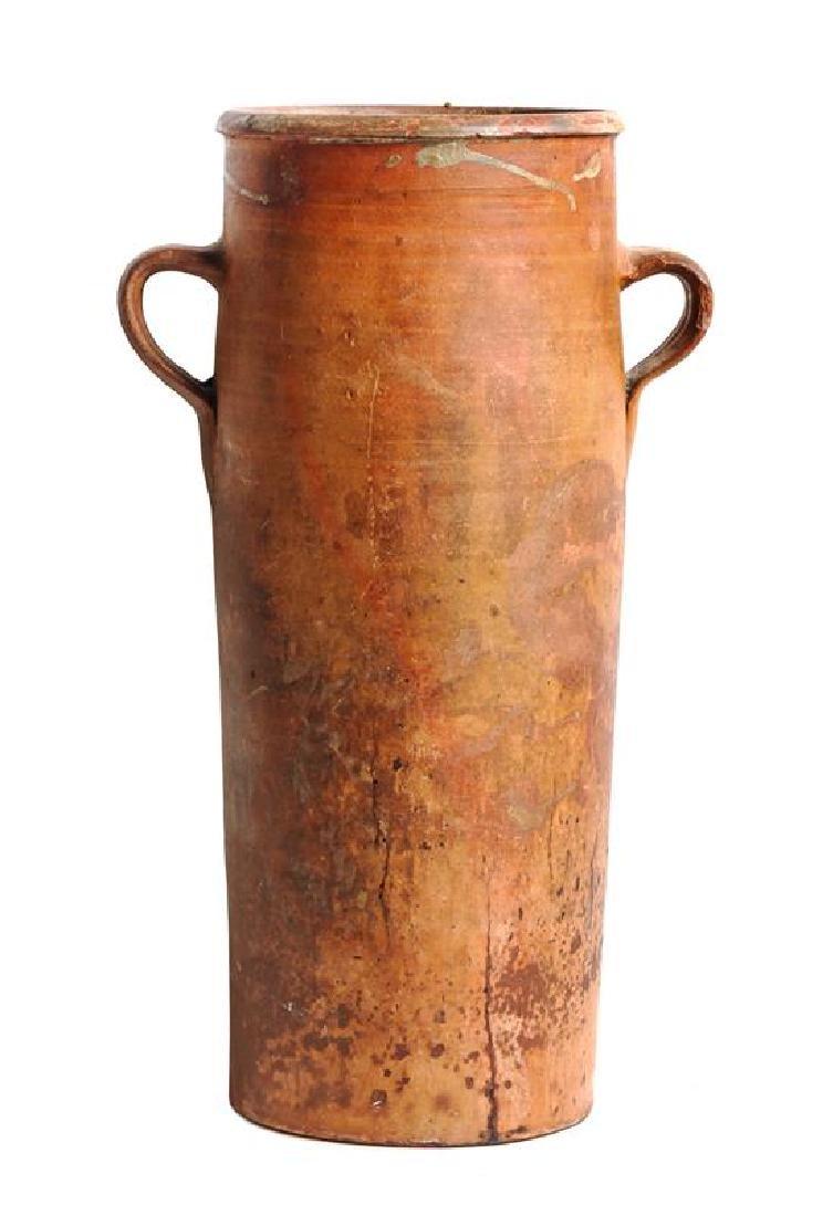 Large Decorative Two Handled Southwestern Ceramic Vase